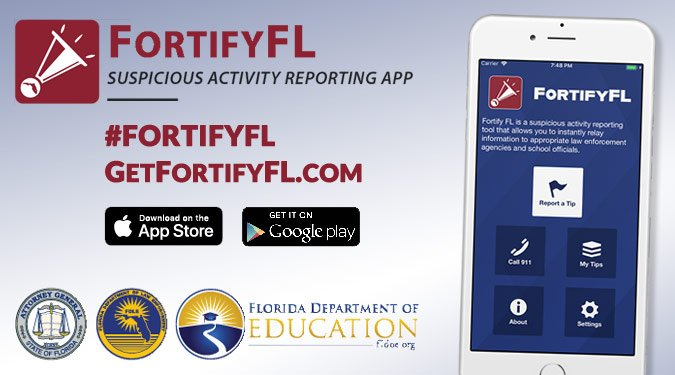 Fortify Florida - Suspicious activity reporting app