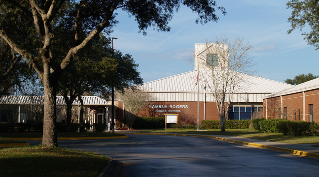 Gamble Rogers Middle School Building